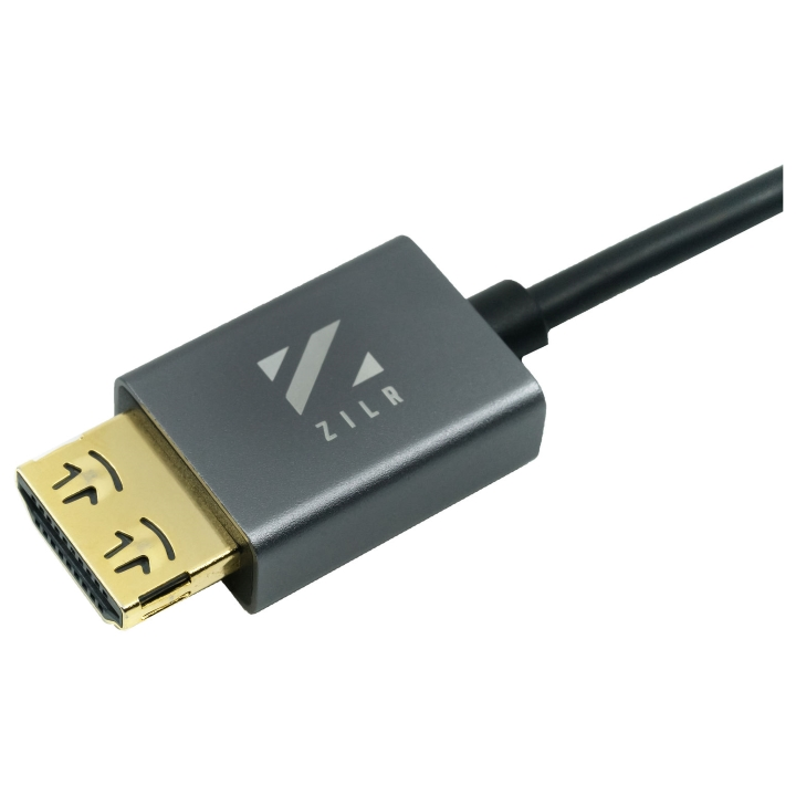 ZILR HDMI Secure Cable with Ethernet 45cm / 17.7