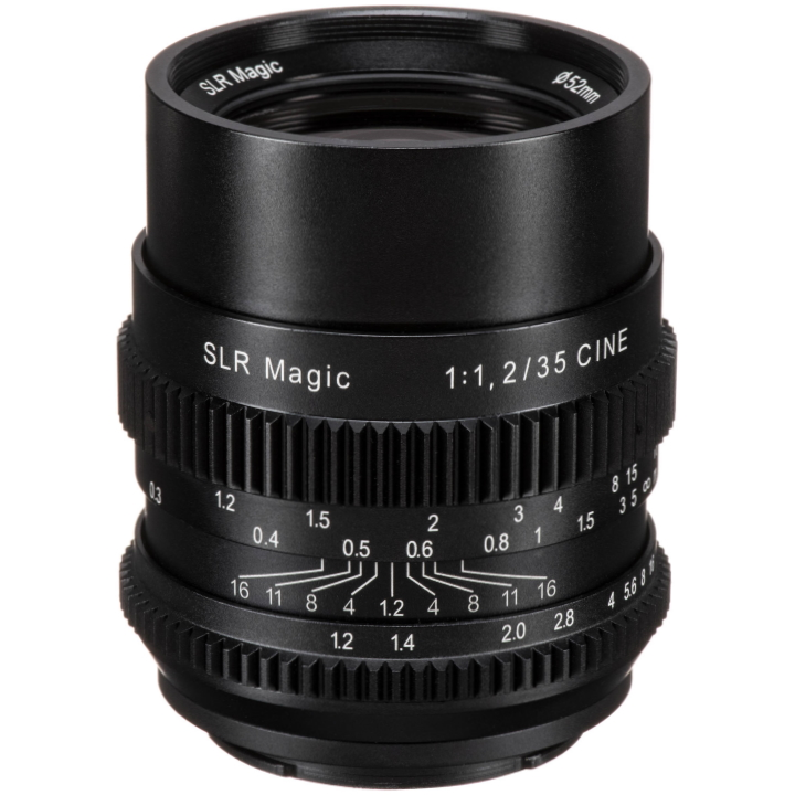 SLR Magic CINE 35mm F/1.2 lens E Mount
