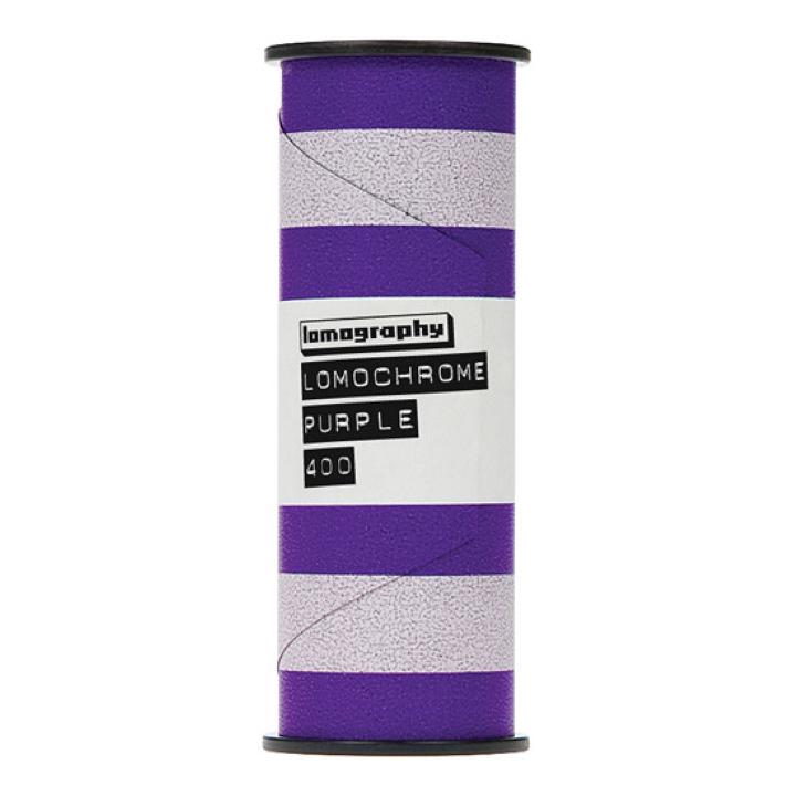 Lomography LomoChrome Purple XR 100-400 Film (120 Roll) new