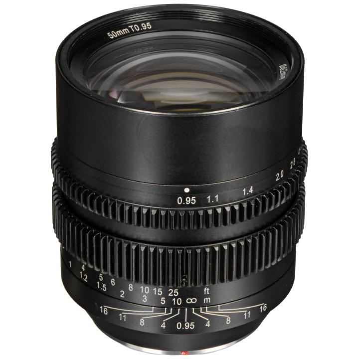 SLR Magic HyperPrime CINE 50mm T0.95 lens MFT Mount