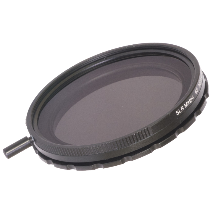 SLR Magic Variable ND Filter (62mm rear thread, 72mm front)