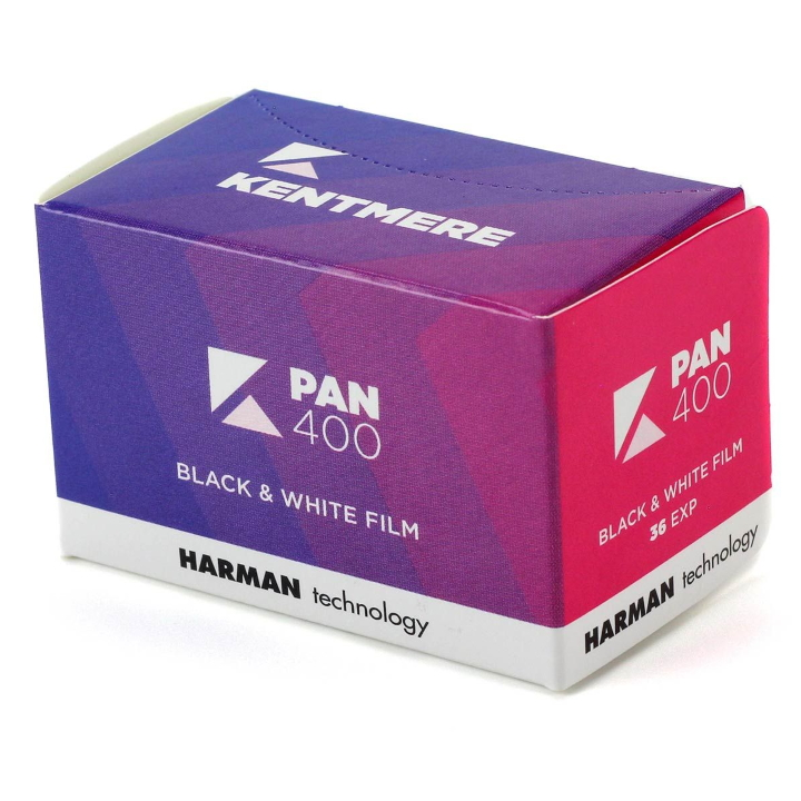 Kentmere 400 ISO 35mm 24 Exposure Black & White Film
