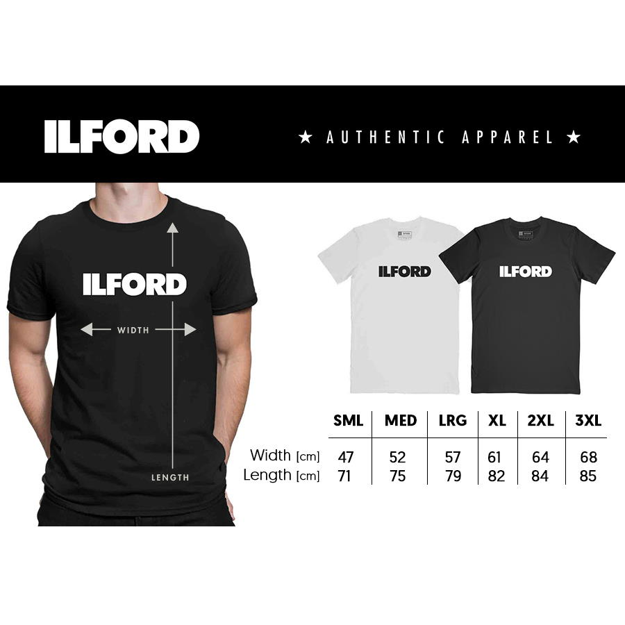 Ilford Black T-Shirt Large