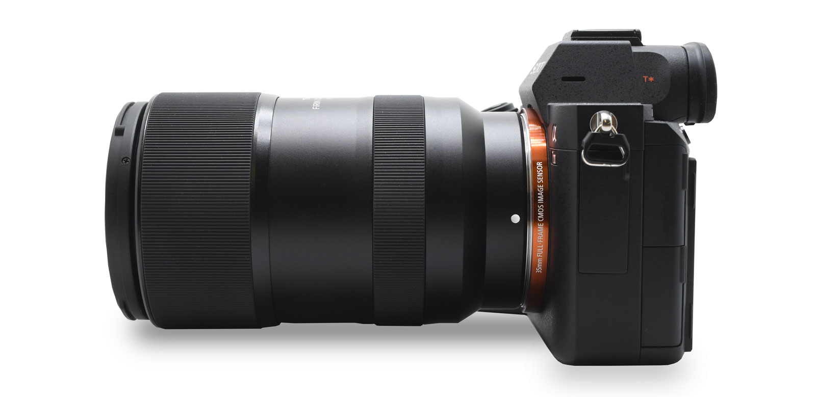 Tokina Firin 100mm F2.8 FE Macro Lens Attached to Sony Mirrorless Camera.jpg