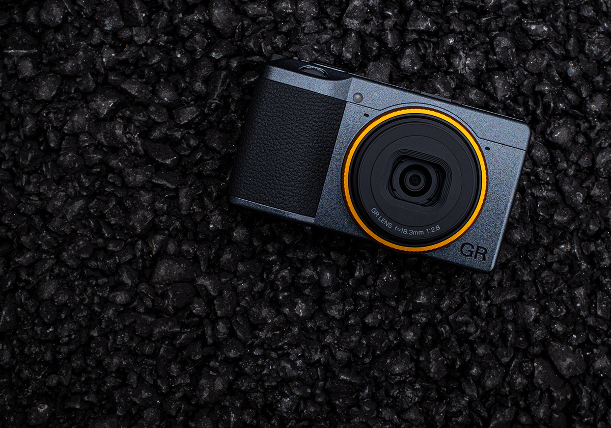 Ricoh GR 3 Street Edition Compact Camera Illustration