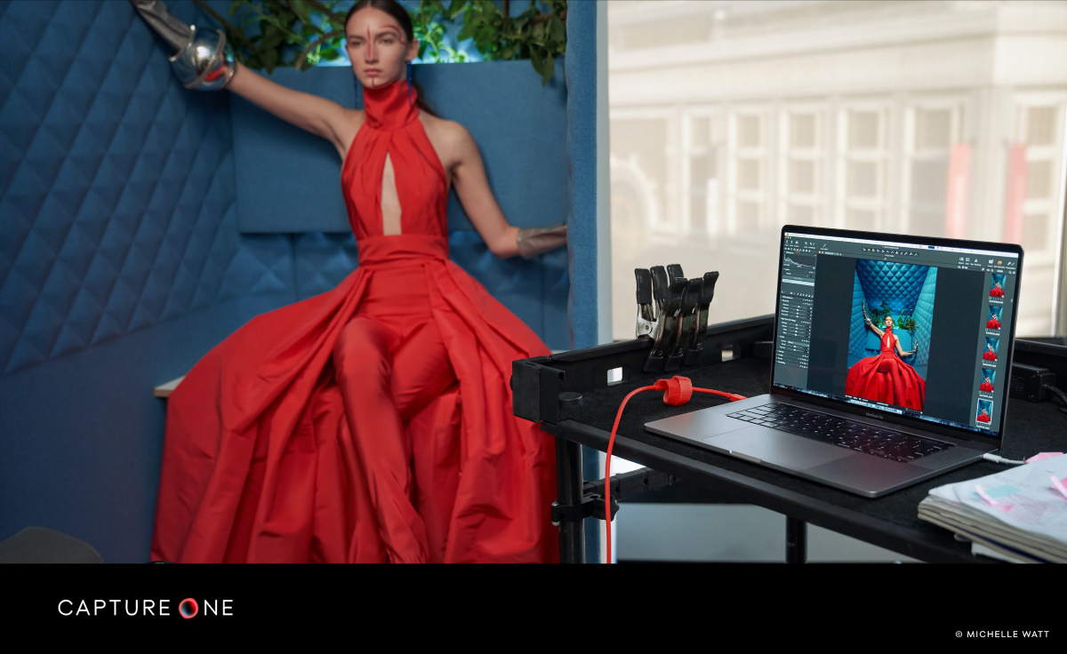 Capture One Pro 21 in use