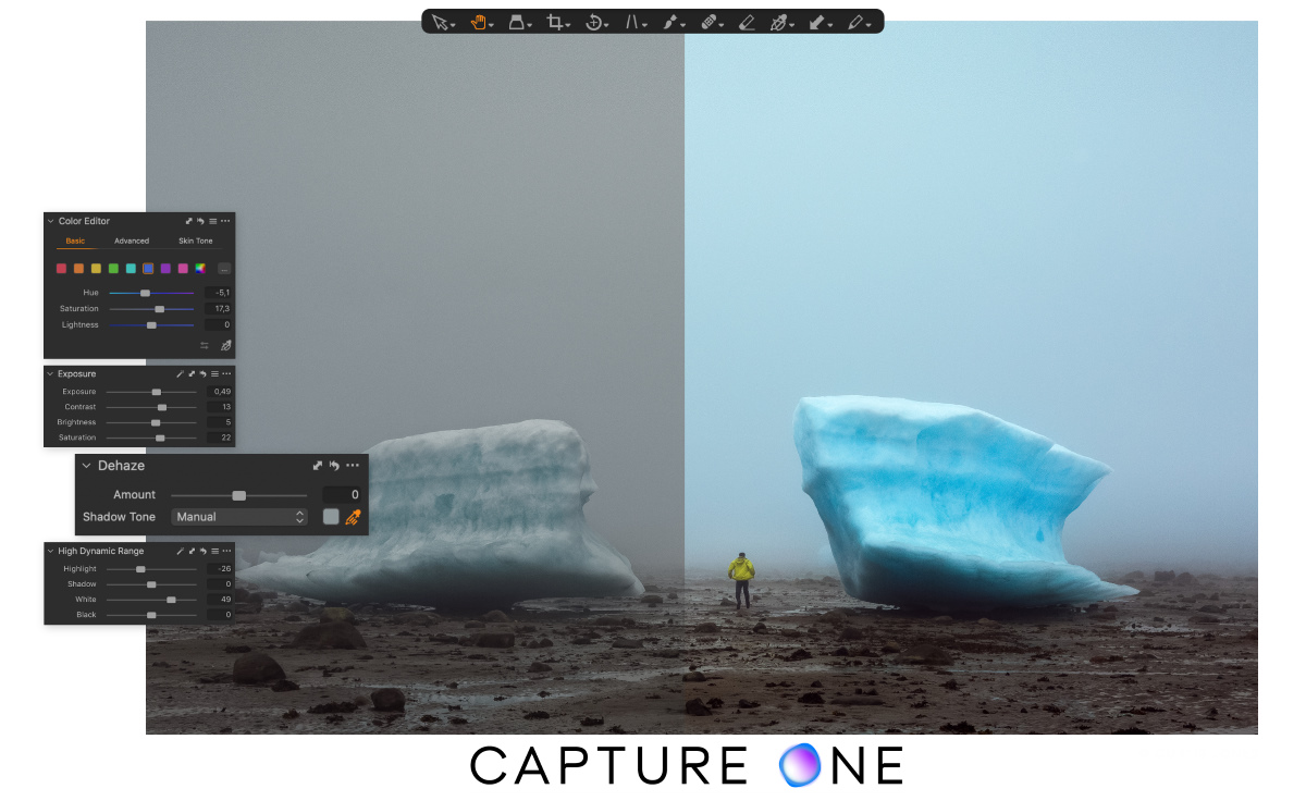 Capture One Pro 21 Dehaze