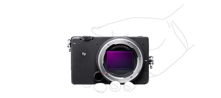 World's smallest & lightest fullframe mirrorless camera