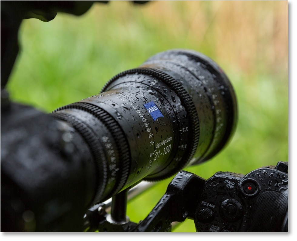 Zeiss ZOOM CINE LENS Freedom even under harsh shooting conditions