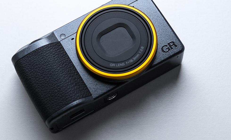 Ricoh GR 3 Street Edition Compact Camera close up shot