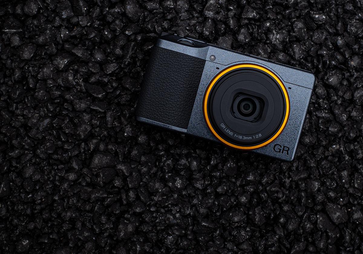 Ricoh GR 3 Street Edition Compact Camera Illustration