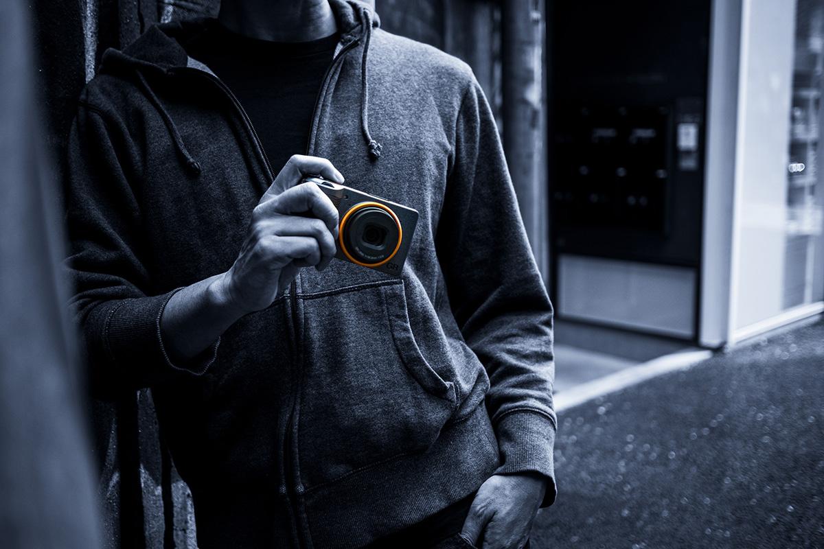 Ricoh GR III Street Edition Compact camera on hand