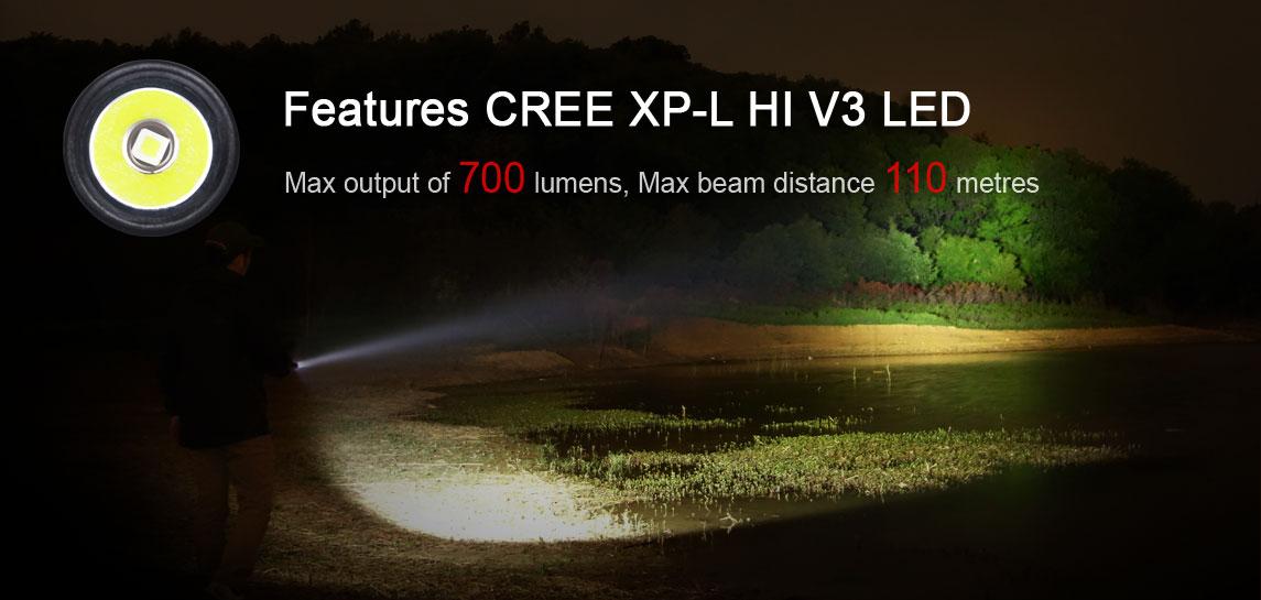 Klarus CREE XP-L HI V3 LED