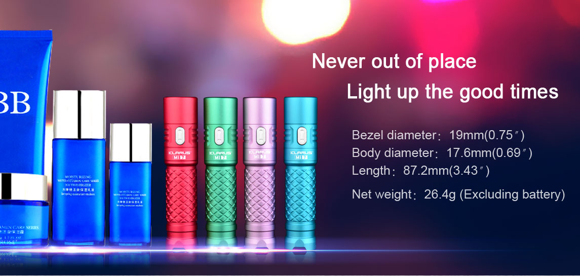 Klarus MI7 Lighting Modes