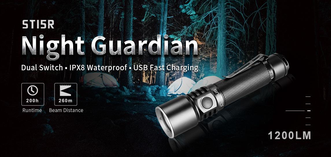 Klarus ST15R Torch features