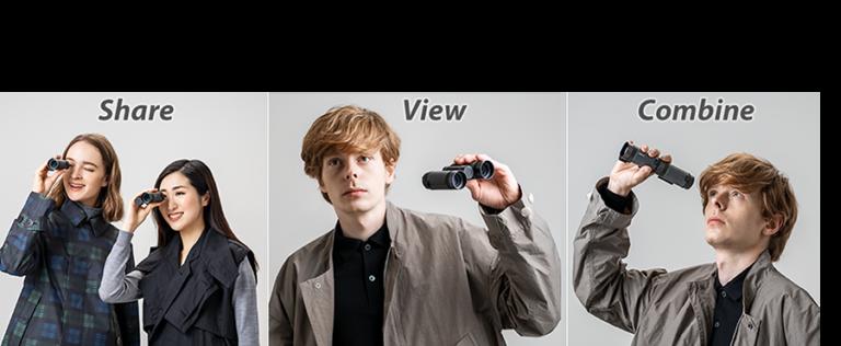 Pentax VD 4×20 WP Three-in-one Binoculars_features_1