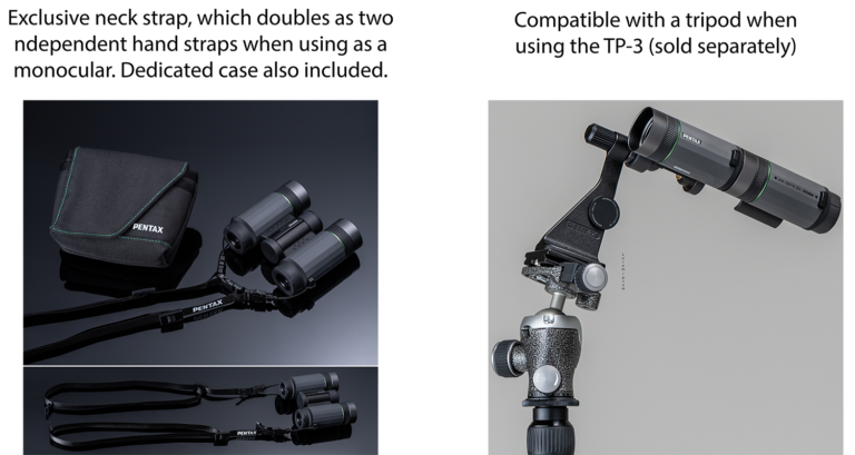 Pentax VD 4×20 WP Three-in-one Binoculars_features_3