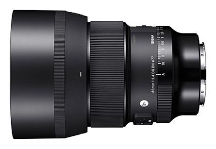 Sigma 85mm F1.4 Lens_sideways
