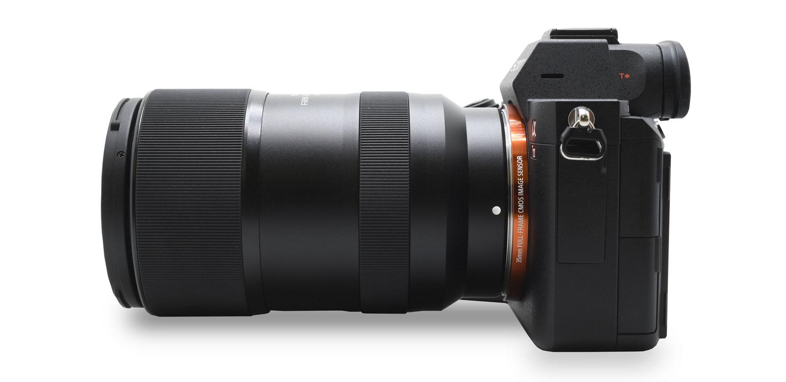 Tokina Firin 100mm F2.8 FE Macro Lens Attached to Sony Mirrorless Camera.jpg